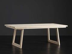 Tavolo da pranzo rettangolare in legno MADRID + FLAT - ECOLAB 2