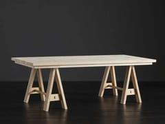 Tavolo da pranzo rettangolare in legno MADRID + HORSE - ECOLAB 2