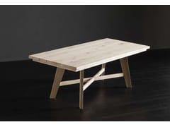 Tavolo da pranzo rettangolare in legno MADRID + PECHINO - ECOLAB 2