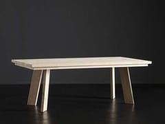 Tavolo da pranzo rettangolare in legno MADRID + STREET - ECOLAB 2