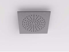 Soffione doccia a soffitto da incasso in acciaio inox MAE | Soffione doccia - Mae
