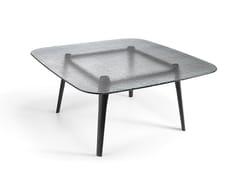 Tavolo quadrato in vetroMAGMA | Tavolo quadrato - FIAM ITALIA