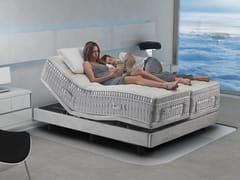 Sistema integrato smart con letto, rete e materassoMAGNISMARTECH - MAGNIFLEX BY ALESSANDERX