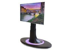 Supporto per monitor/TV motorizzato a pavimentoMAIOR OMNIA® STUDIO - EUROTECNO