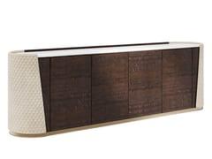 Madia in legno e pelle con ante e cassettiMAJESTIC | Madia - CAPITAL COLLECTION IS A BRAND OF ATMOSPHERA