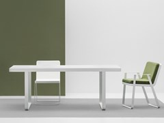 Tavolo da giardino rettangolare in alluminioMAKEMAKE | Tavolo in alluminio - TERRAFORMA