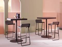 Tavolo alto da giardino quadrato in alluminioMAKEMAKE | Tavolo quadrato - TERRAFORMA