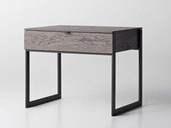 Comodino rettangolare in legno con cassettiMAKON | Comodino - ZEGEN