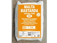 Bacchi, MALTA BASTARDA FINE Malta per muratura