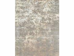 Tappeto a motivi MAMI WATA ESK-411 Medium Gray/White Sand - Chaos Theory By Kavi