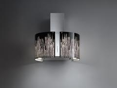 Cappa in acciaio inox e vetro a pareteMANHATTAN - FALMEC