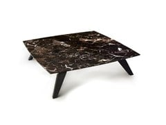 Tavolino quadrato in marmo MANHATTAN   Tavolino quadrato -