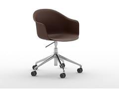 Sedia ufficio ad altezza regolabile con braccioli con ruoteMÁNI ARMSHELL PLASTIC HO - ARRMET