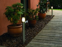 Paletto luminoso in acciaio inox MANIX FL - BEL-LIGHTING