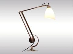 Lampada da scrivania con braccio flessibile MANTODEA | Lampada da scrivania -