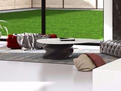 Tavolino basso triangolare in marmo PLECTRUM | Tavolino in marmo - Plectrum