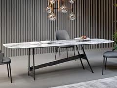 Tavolo da pranzo in marmo di CarraraSLOT | Tavolo in marmo - BONALDO