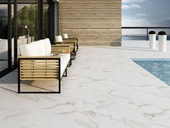 Pavimento in gres porcellanato effetto marmoMARBLES - EXAGRES