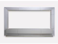 Mobile TV in rovere con ante a ribaltaMARCO   Mobile TV - MORADA - HAUTE FURNITURE BOUTIQUE