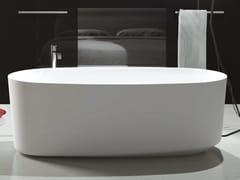 Vasca da bagno centro stanza ovale in Luxolid®MARECHIARO TUB - RELAX DESIGN