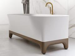 Vasca da bagno centro stanza ovale in materiale compositoMARGOT - RELAX DESIGN