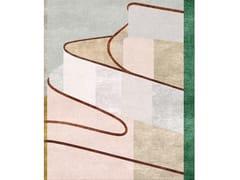 Tappeto fatto a mano in lana e setaMARIA - TAPIS ROUGE