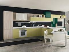 Cucina componibile in Okite® con penisola MARINA 3.0 | Cucina componibile -