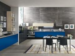 Cucina componibile lineare in laminato MARINA 3.0 | Cucina -