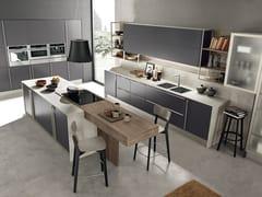Cucina componibile in laminato con isola MARINA 3.0 | Cucina con isola -