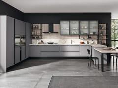 Cucina componibile in gres porcellanato con penisola MARINA 3.0 | Cucina in gres porcellanato -