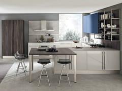 Cucina componibile in laminato con penisola MARINA 3.0 | Cucina con penisola -