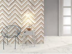 Pavimento/rivestimento in gres porcellanato effetto marmoMARMI BIANCHI - CERAMICHE COEM