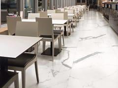 Pavimento in gres porcellanato effetto marmo MARMI CENTO2CENTO - STATUARIO ALTISSIMO - MARMI CENTO2CENTO