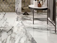 Impronta Ceramiche, MARMI DI IMPRONTA CALACATTA CERVAIOLE Pavimento/rivestimento in gres porcellanato effetto marmo