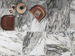 Impronta Ceramiche, MARMI DI IMPRONTA CALACATTA Pavimento/rivestimento in gres porcellanato effetto marmo