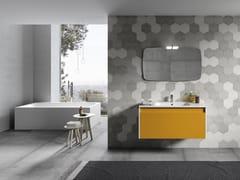Mobile lavabo sospeso con specchioMARS 07 - BMT