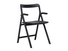 Sedia in legno massello con braccioliMARSHALL | Sedia con braccioli - WOAK