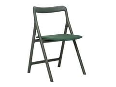 Sedia in legno massello con schienale apertoMARSHALL | Sedia - WOAK