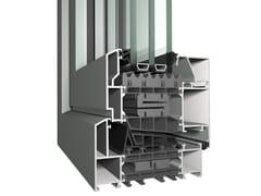 Reynaers Aluminium, MasterLine 10-WD Porta-finestra a battente in alluminio con triplo vetro