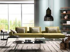 Divano componibile in tessuto con chaise longueMASTROIANNI | Divano con chaise longue - FORMER IN ITALIA