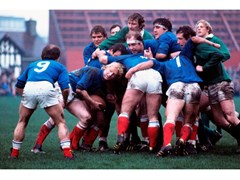 Stampa fotograficaTORNEO DI RUGBY IRLANDA - FRANCIA 1977 - ARTPHOTOLIMITED