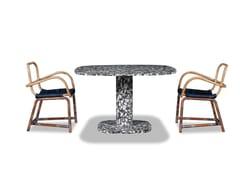 Tavolo quadrato in marmo MATERA | Tavolo quadrato - Matera