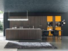Cucina componibile in melamina MATERIA | Cucina con isola -