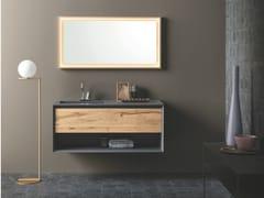 Mobile lavabo sospeso con cassetti MATERIA VIP 07 - Materia