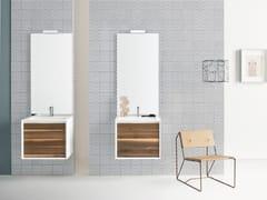 Mobile lavabo sospeso con cassetti MATERIA VIP 08 - Materia