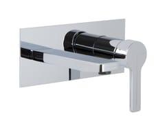 Miscelatore per lavabo a muro con piastra MATRIX F3541X5 | Miscelatore per lavabo - Matrix