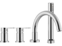Miscelatore per vasca a 4 fori con doccetta MATRIX F3544 | Miscelatore per vasca - Matrix