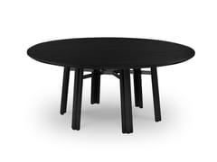Tavolo da giardino rotondo in legnoMAXIM PLUS | Tavolo rotondo - BRAID COMPANY