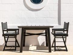 Tavolo da giardino quadrato in legnoMAXIM PLUS | Tavolo quadrato - BRAID COMPANY