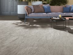 Pavimento/rivestimento in gres porcellanato effetto pietra MAXIMA GRIS - Maxima
